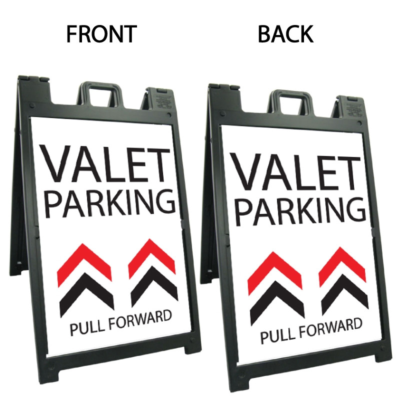 Signicade Deluxe Black A-Frame Double Sided Sign AF-7