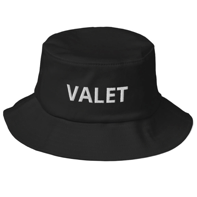 Black Valet Bucket Hat