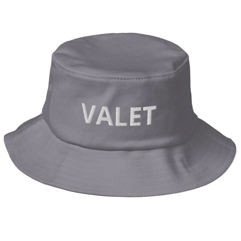 Grey Valet Bucket Hat