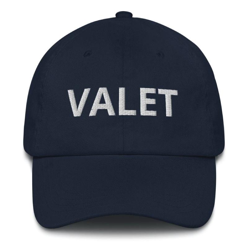 Navy Valet Runner Hat