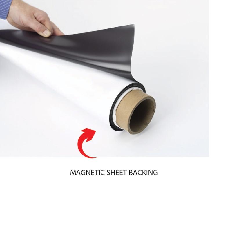 Valet Podium Magnet Add On Sign MA03