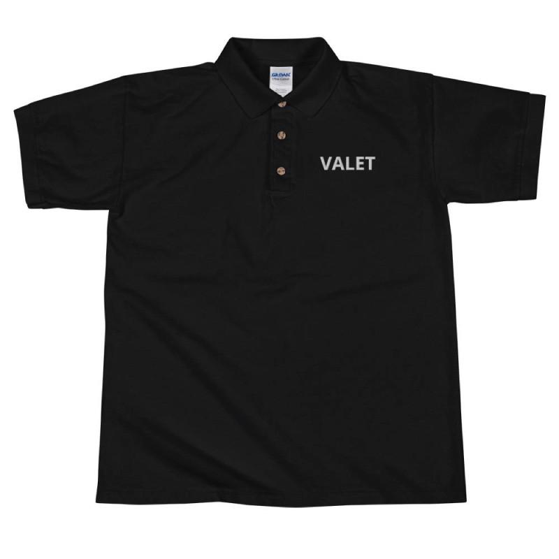 Black Valet Polo Shirt