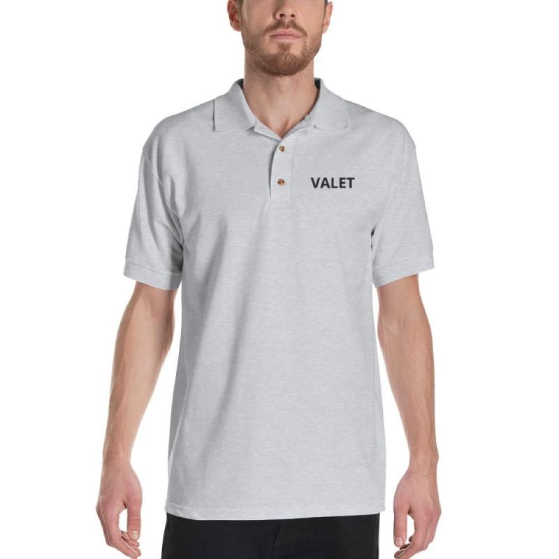 Blue Valet Polo Shirt