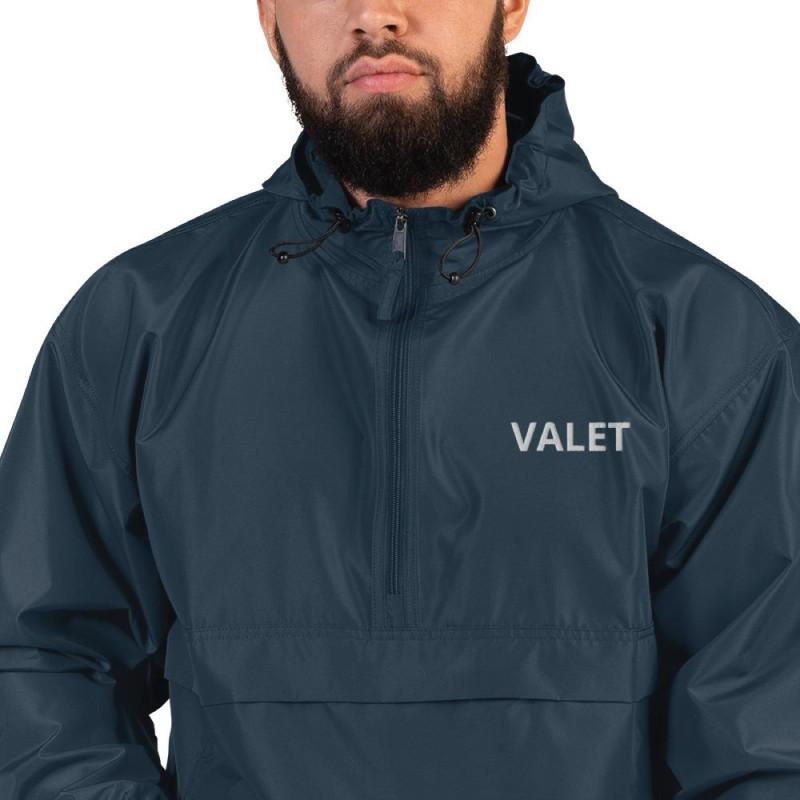 Men Navy Valet Jacket