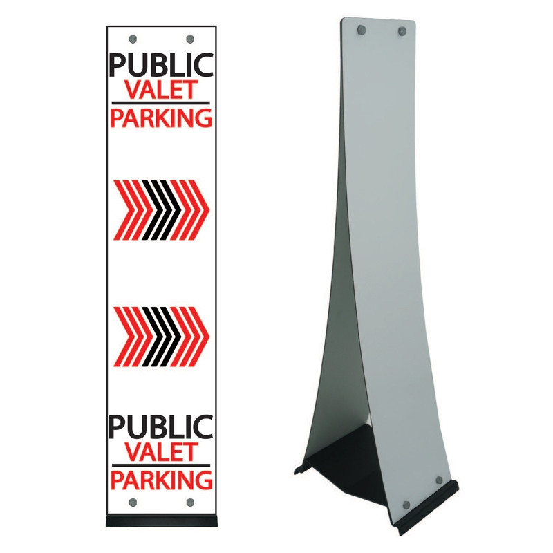 Custom Design M-Stand Small Sign PWMS-SCD