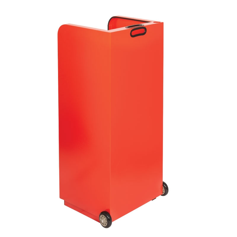 Valet Parking 100 Key Slot Red Drawer Side