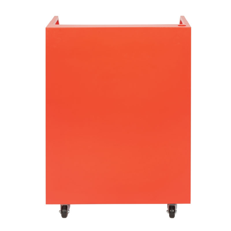 Valet Podium 200 Key Slot Red Front Drawers