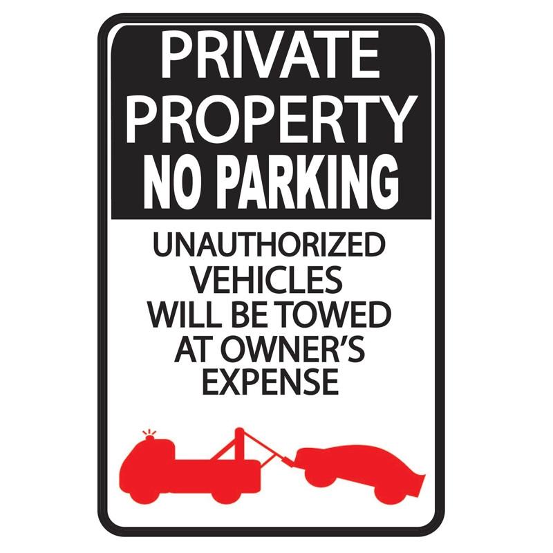 Parking Sign WSP24