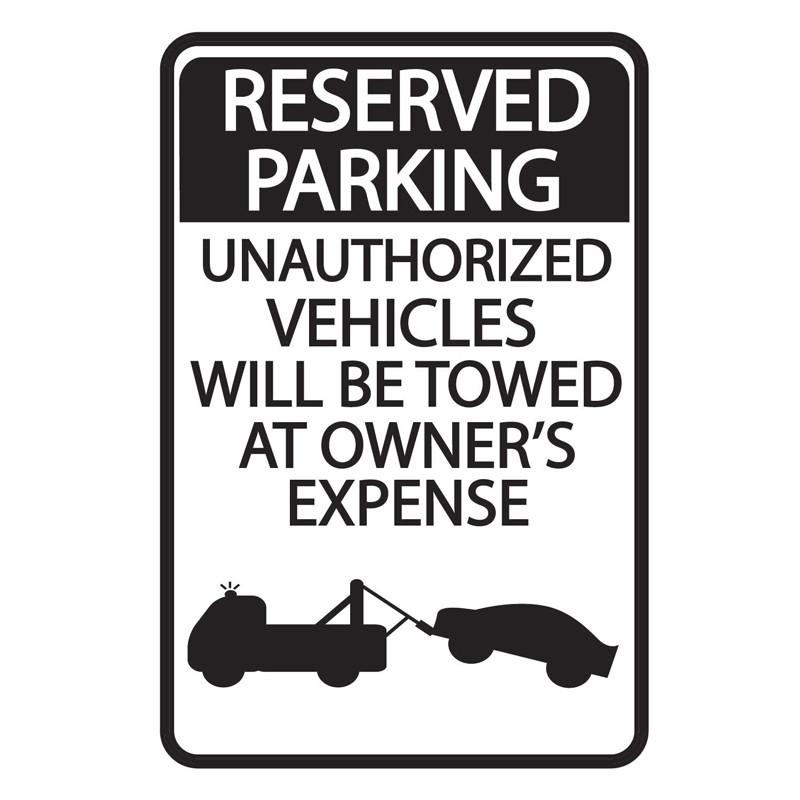 Parking Sign WSP7