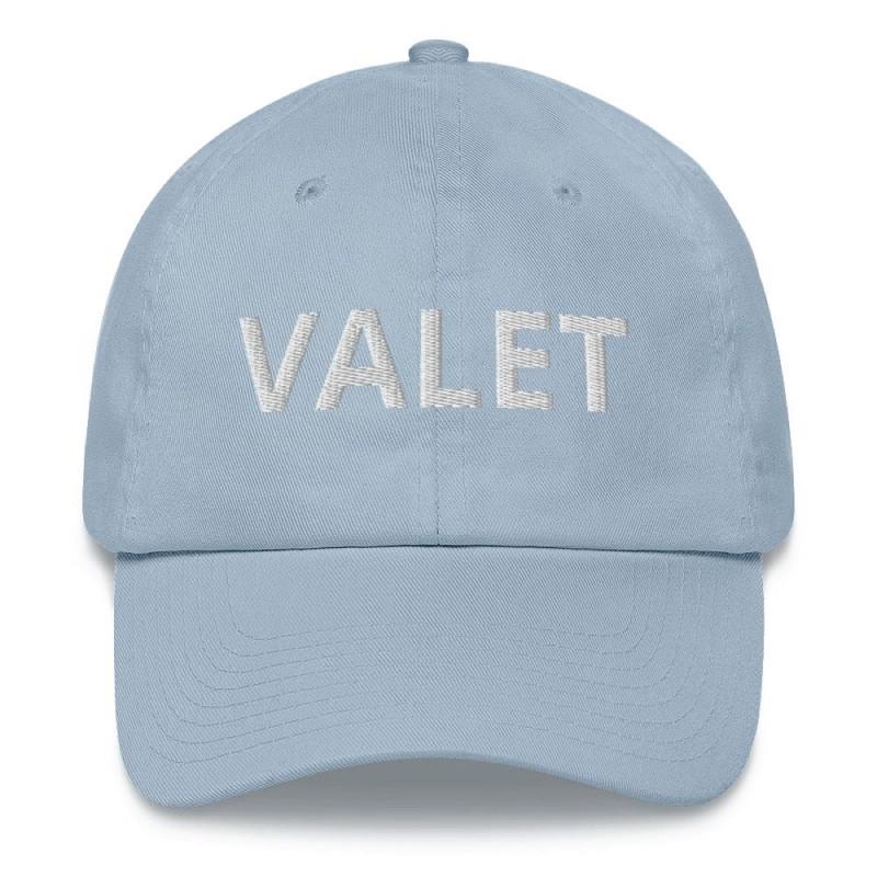 Light Blue Valet Runner Hat