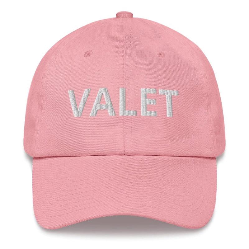 Pink Valet Runner Hat