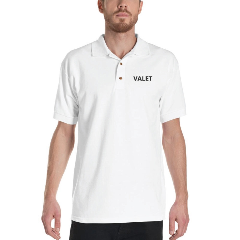 White Valet Polo Shirt
