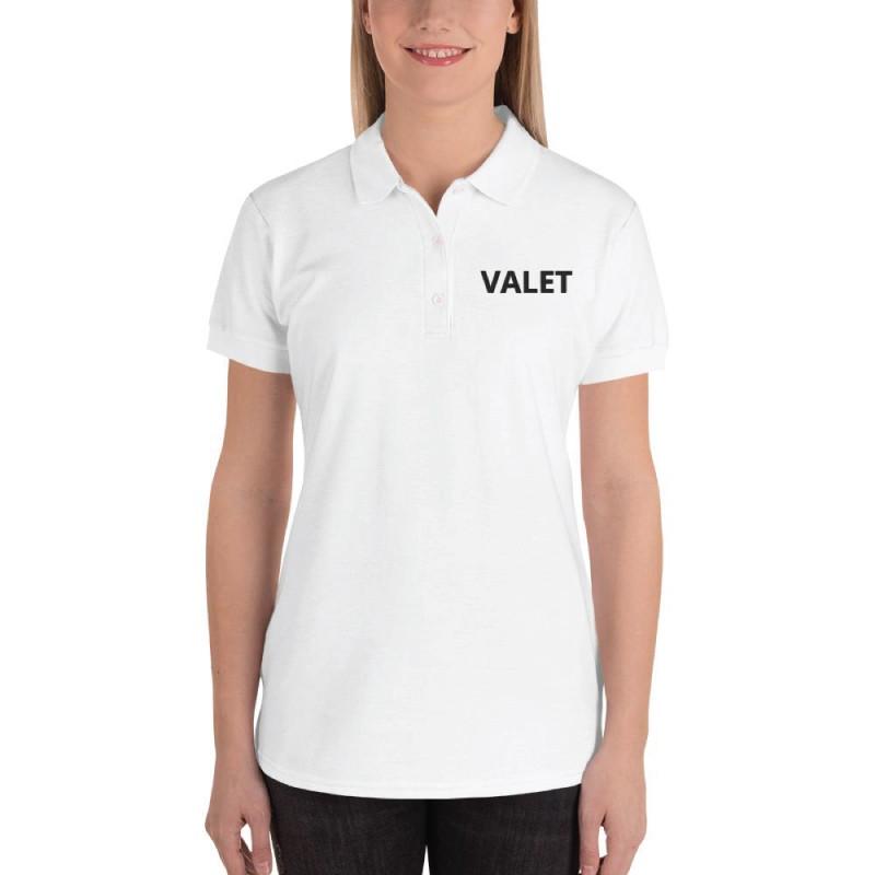 White Valet Polo Shirt