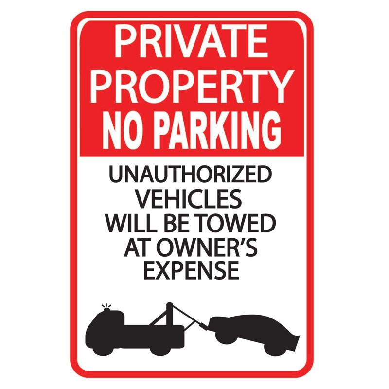 Parking Sign WSP23
