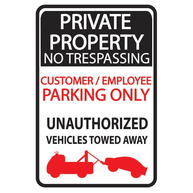 Parking Sign WSP27