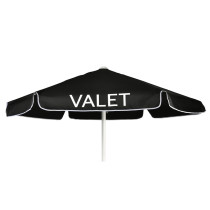 Parking Umbrella with Printing - Black