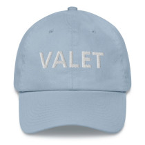Light Blue Valet Runner Hat