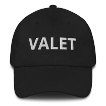 Black Valet Runner Hat