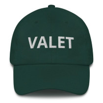Green Valet Runner Hat