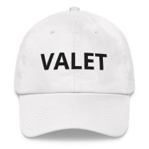 White Valet Runner Hat