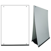 Custom Design M-Stand Large Sign Front View