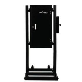 Black 50 Hook Valet Key Box With Stand