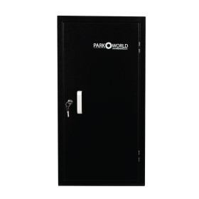 Black 50 Hook Valet Key Box