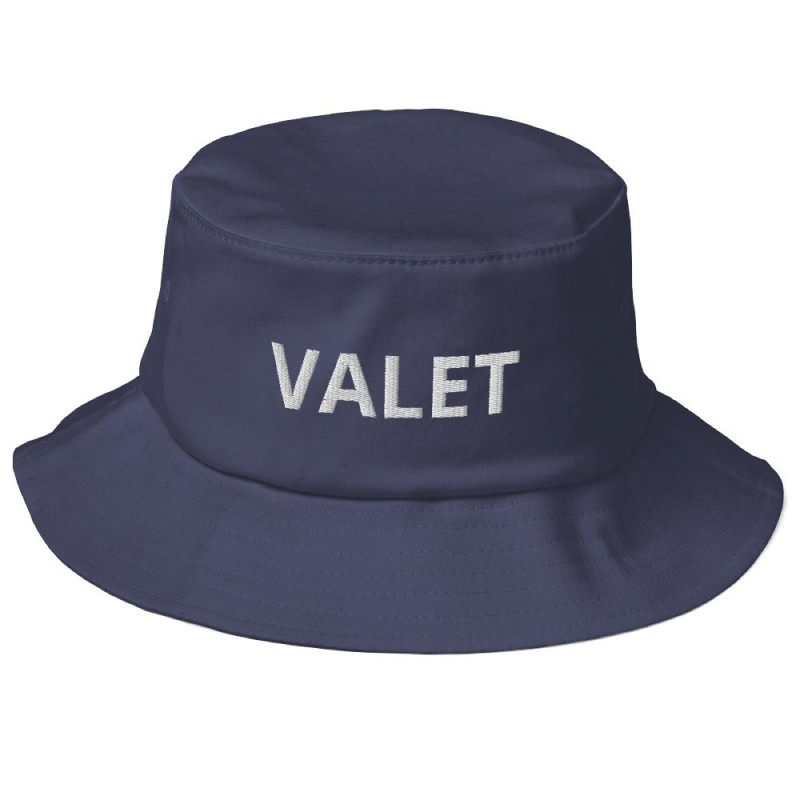 Navy Valet Bucket Hat