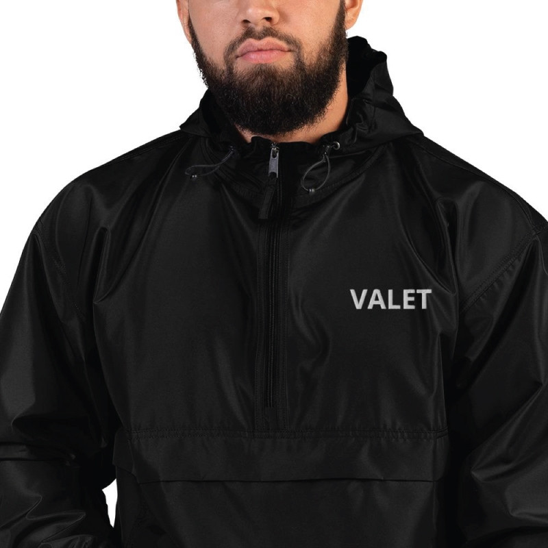 Men Black Valet Jacket