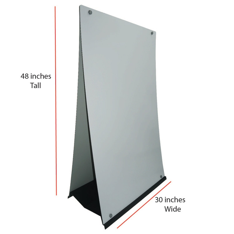 Custom Design M-Stand Large Sign Dimensions