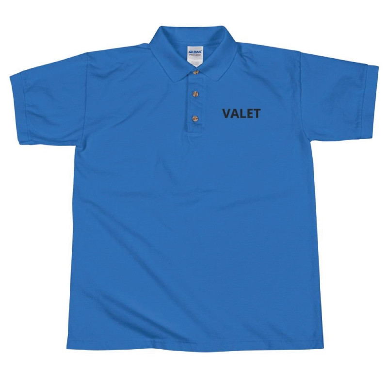 Blue Valet Polo Shirt
