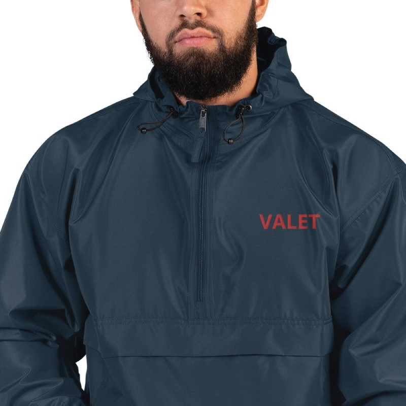 Men Navy Valet Jacket