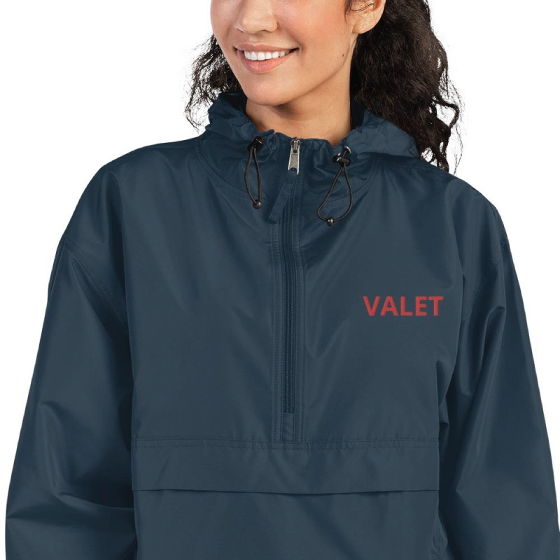 Women Navy Valet Jacket