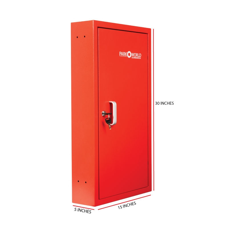 Red Valet Key Box 50 Key Hook Size