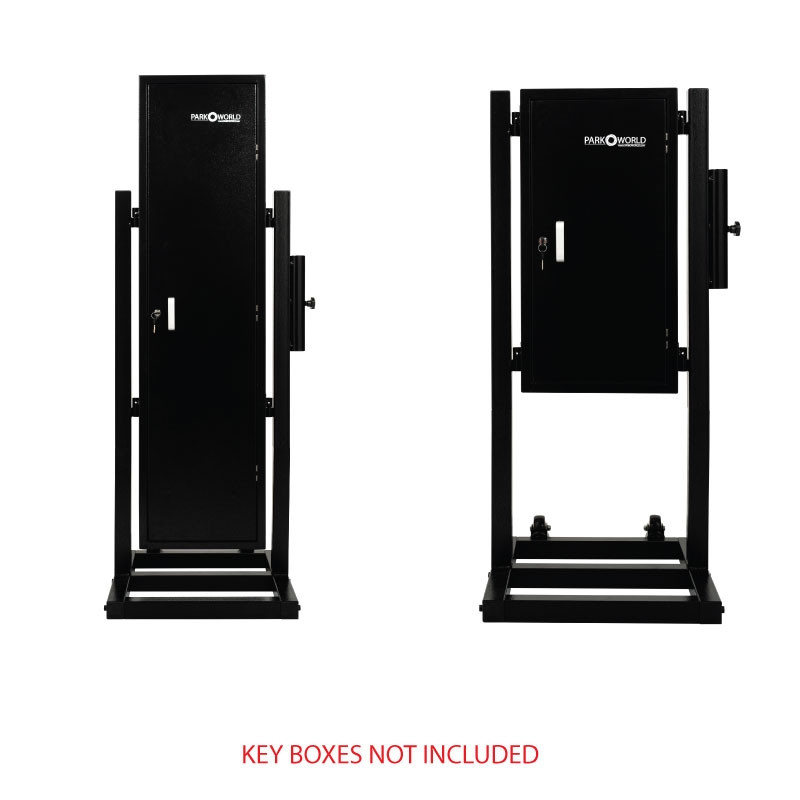 Valet Key Box Stand With Key Boxes