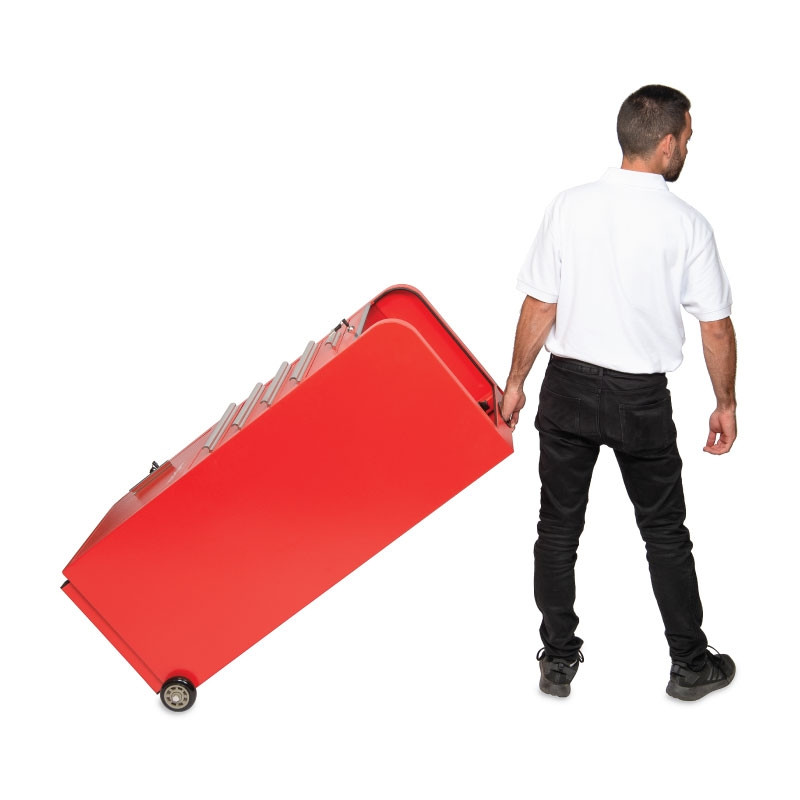 Valet Parking 100 Key Slot Red Roll