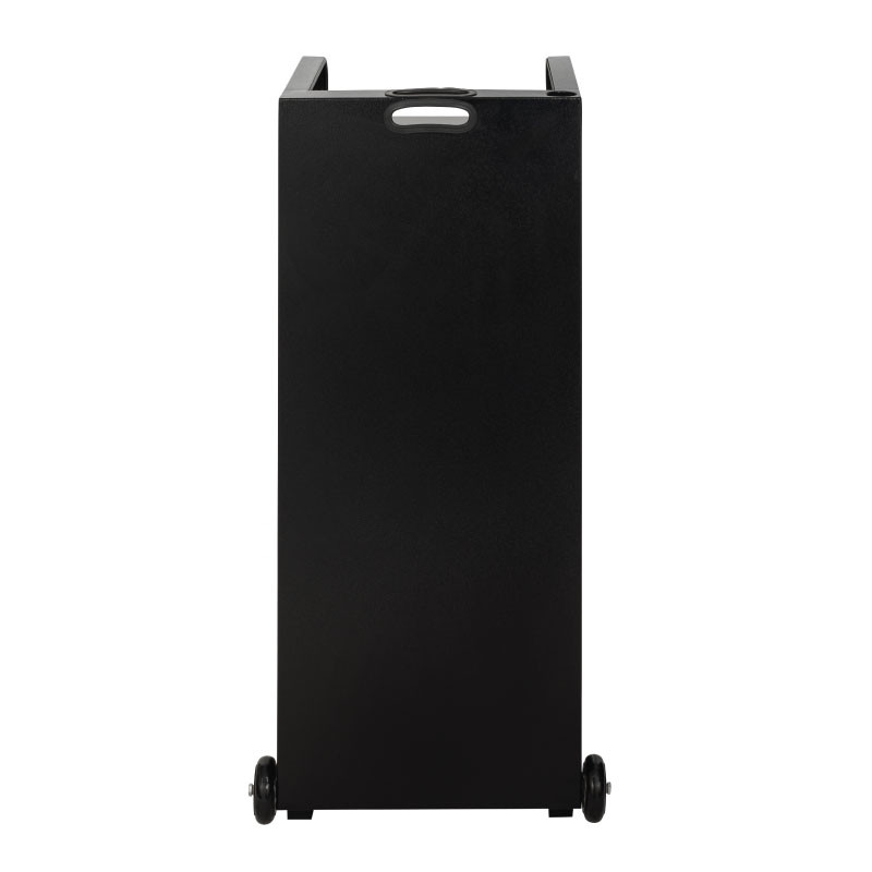 Valet podium 100 key slot black front