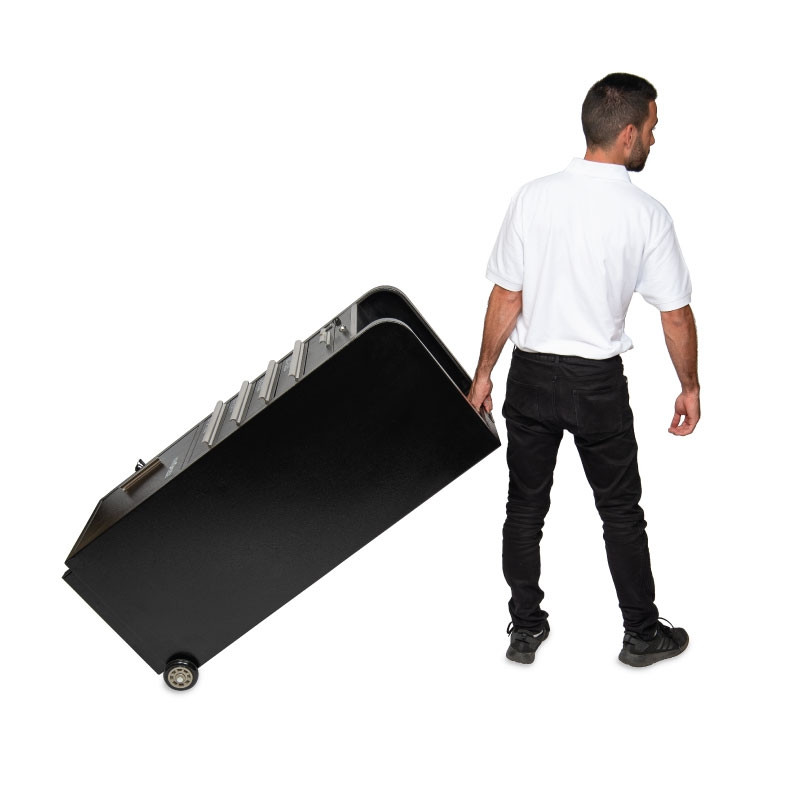Valet Podium 100 Key Slot Black Roll