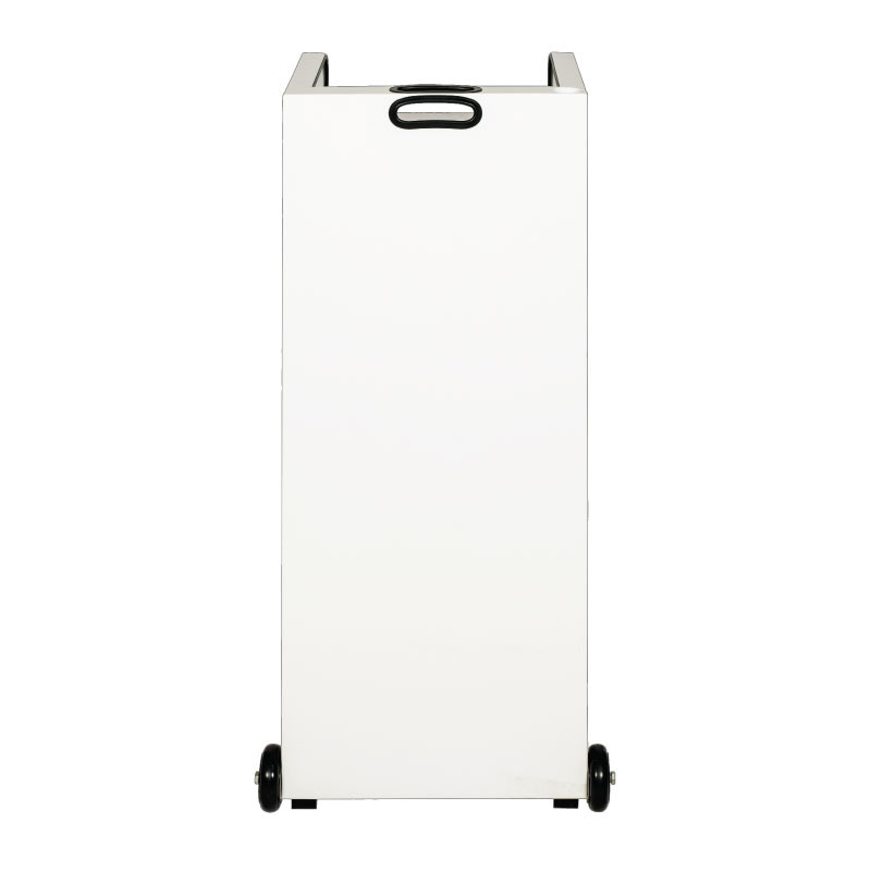 Valet Podium 100 Key Slot White Front