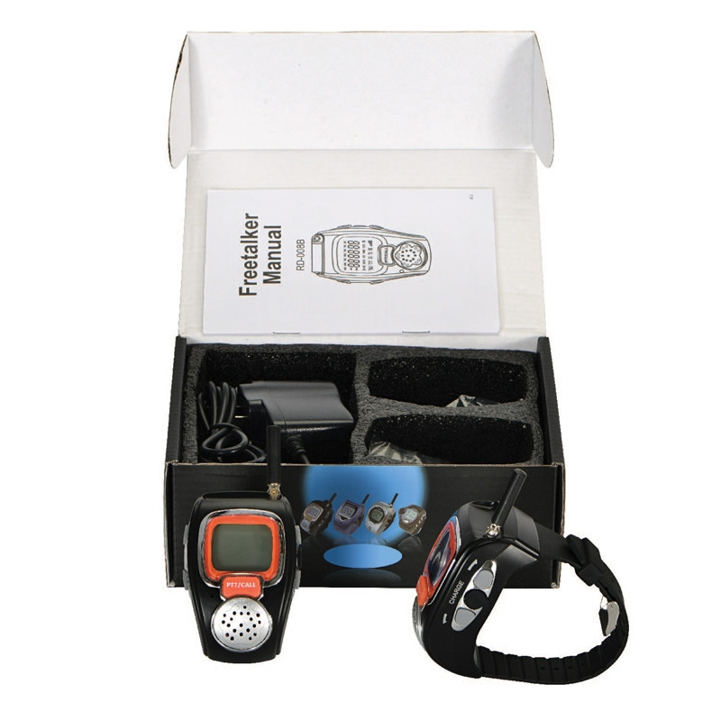 Valet Wrist Watch Walkie Talkie box