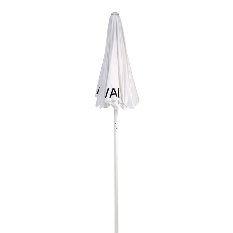 White Valet Parking Umbrella with Printing