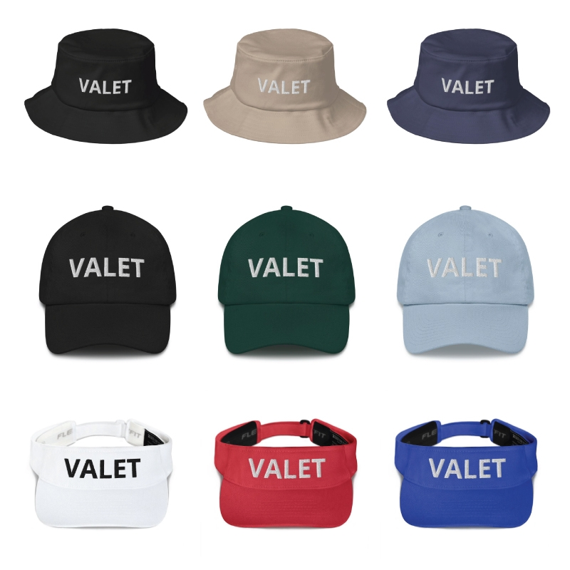 Valet Parking Hats