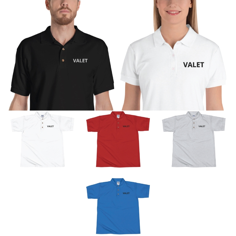 Valet Parking Polo T-Shirts