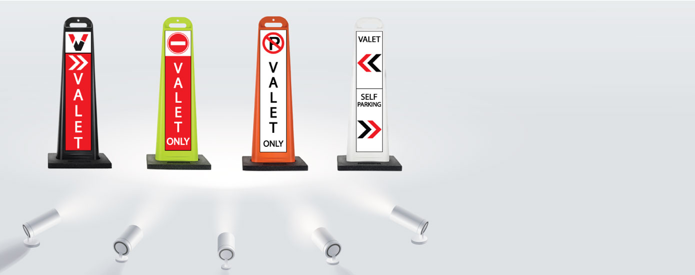 Parking Sign Stands